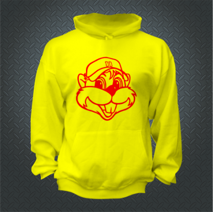 Chappie Hoodie Front Social