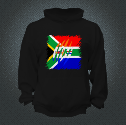 South African Ripped Shirt Hoodie