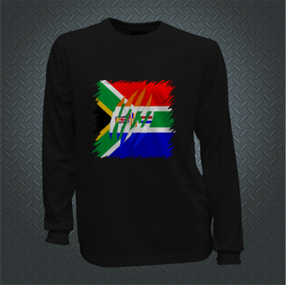 South African Ripped Shirt Long